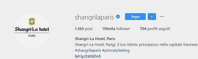 hotel instagram